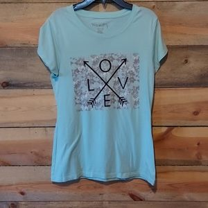 "Wound up ""Love"" tee shirt"